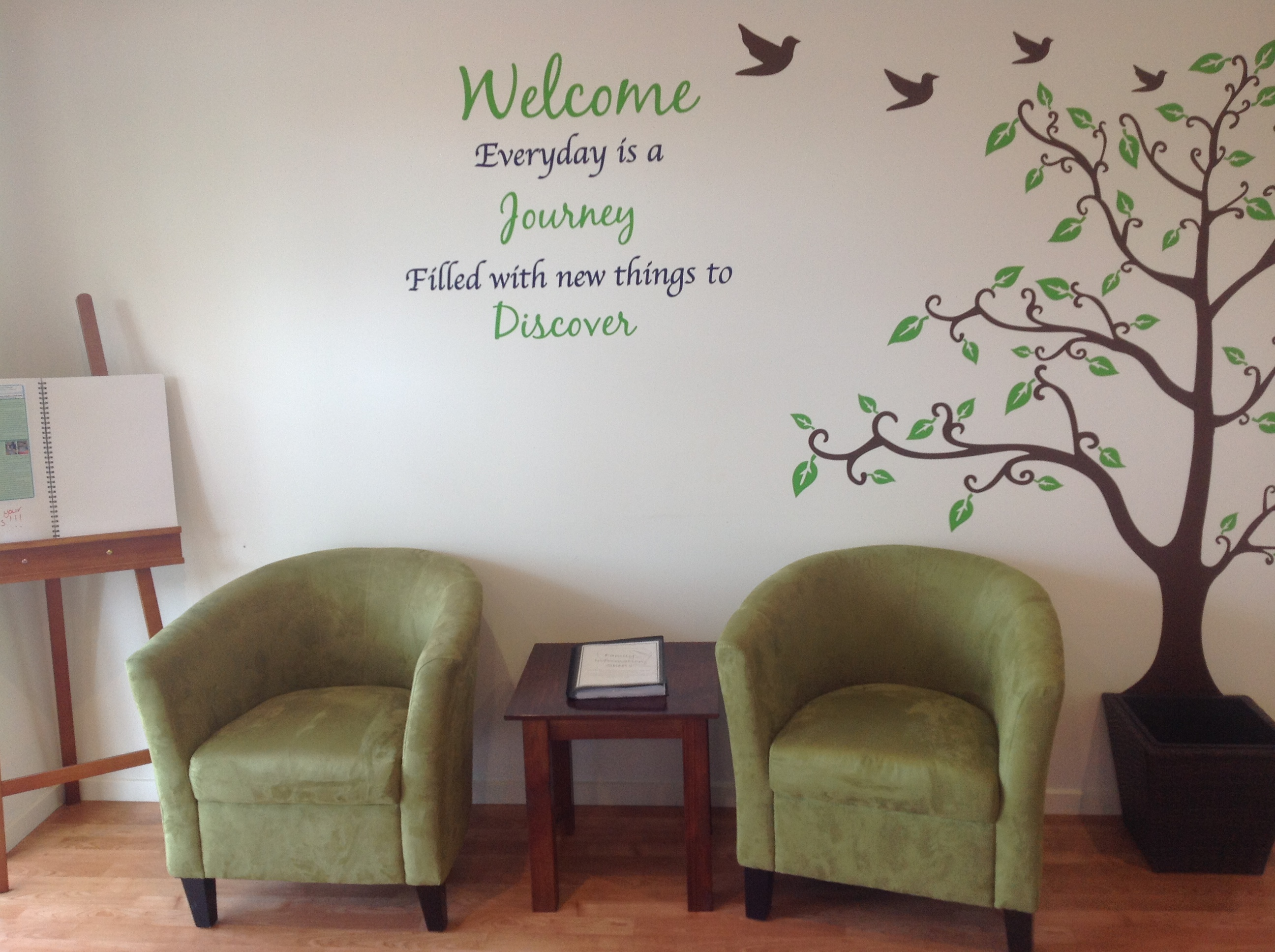 how to make an inviting childcare center